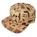 【送料無料◎クーポン対象】【超激レアアイテム】 nike ナイキ エアジョーダン 帽子 メンズサイズ Jordan Graphic AOP Proキャップ(Flax) 【楽ギフ_包装選択】