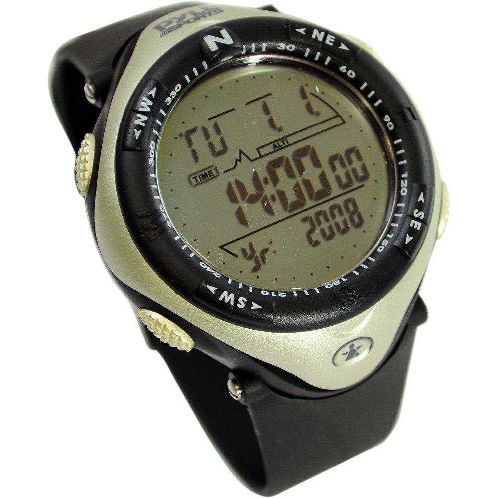 Pyle Sports PAW1 高度計 気圧計 デジタルウォッチ 多機能デジタルウォッチ...:usa-hobby-land:10000735