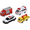 【数量限定特価SALE】トミカ 緊急車両セット5 トミカギフトセット タカラトミー ミニカー 車 おもちゃ【RCP】