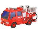 サウンドポンプ消防車 サウンドシリーズ フリクション走行 トイコー toyco 車 おもちゃ
