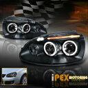 フォルクスワーゲン ヘッドライト VOLKSWAGEN 2006-2008 VW MK5 Jetta Golf Rabbit Halo Projector LED Headlight Black VOLKSWAGEN 2006-2008 VW MK5ジェッタゴルフラビットヘイロープロジェクターLEDヘッドライトブラック