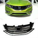ホンダ jade グリル Front Grill Grille Air Intakes Retrofit ABS + Chrome for Honda Jade 2013-2016 ホンダジェイド2013-2016用フロントグリルグリルエア摂取後付ABS +クローム