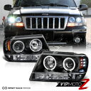 Jeep ジープ1999-2004 Jeep Grand Cherokee WJ WG Black LED