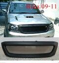 トヨタ ハイラックス グリル Front Grill Grille Black Net for Toyota Hilux Pickup Kun Sr5 Mk6 Vigo 2009-2011 トヨタハイラックスピックアップくんSR5 MK6ビーゴ2009年から2011年のためのフロントグリルグリルブラックネット
