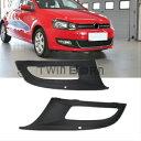フォルクスワーゲン グリル 2X For 10-13 Volkswagen Polo 6R Front Lower Bumper Fog Grille Left&Right Set 10月13日フォルクスワーゲンポロ6Rフロントロアバンパーフォググリル左右セットについては2X