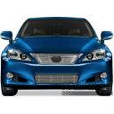 レクサス グリル Premium FX 2pc Chrome Top + Bumper Billet Grille Insert for 2010-13 Lexus IS250C プレミアムFX 2PCクローム2010-13レクサスIS250Cのトップ+バンパービレットグリルインサート