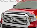 トヨタ TUNDRA バグガード WeatherTech Stone & Bug Deflector Hood Shield for Toyota Tundra - 2014-2016 2014-2016 - トヨタタンドラのためWeatherTechストーン&バグディフレクターフードシールド