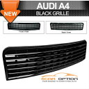 Audi A4 グリル 02-05 Audi A4 Front Black Grill Grille Mesh 02-05アウディA4フロントブラックグリルグリルメッシュ