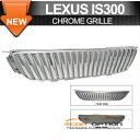 Lexus Is300 グリル 01-05 Lexus Is300 Chrome Vertical Grill Grille 01-05レクサスIS300クローム垂直グリルグリル