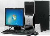 中古パソコン DELL Precision T3400-E8400MT■15液晶セット Win7Pro(MRR)付(Core2Duo DVD-ROM DVI-I Windows7 Pro デル)【中古】 P20Feb16
