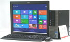 中古パソコン DELL Optiplex 990-3400SF■20液晶セット Windows8.1 (Corei7 HDMI DVDスーパーマルチドライブ グラボ ビデオカード GeForce デル)【中古】
