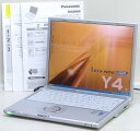 M-1.6/512/DVDマルチ/無線/SXGA+/XPPanasonic CF-Y4JW8AXS