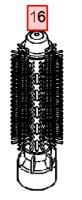 ◆◆太ロールブラシのみ◆◆パナソニックEH8422PEH8422W用くるくるドライヤーナノケア替太ロールブラシEH8422P7507EH8422W7507パナソニックのナノイ-ドライアーホワイトピンク