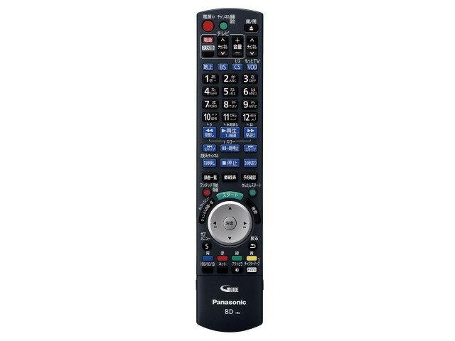 【小型宅配便(定型外郵便)対応可能】Panasonic (Panasonic)パナソニック HDD搭載ハイビジョンBDレコーダー用リモコン 純正リモコン N2QAYB000808 対応機種:DMR-BXT3000