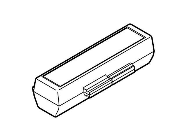 【小型宅配便(定型外郵便)対応可能】☆パナソニック(Panasonic)☆ ICレコーダー用 電池ケース部品コード:RFA3332 純正部品 消耗品