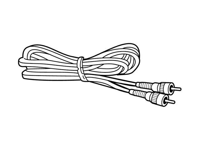 【小型宅配便(定型外郵便)対応可能】☆パナソニック(Panasonic)☆ ホームシアター スピーカーシステム ピンコード部品コード:RJL1P015B50 純正部品 消耗品