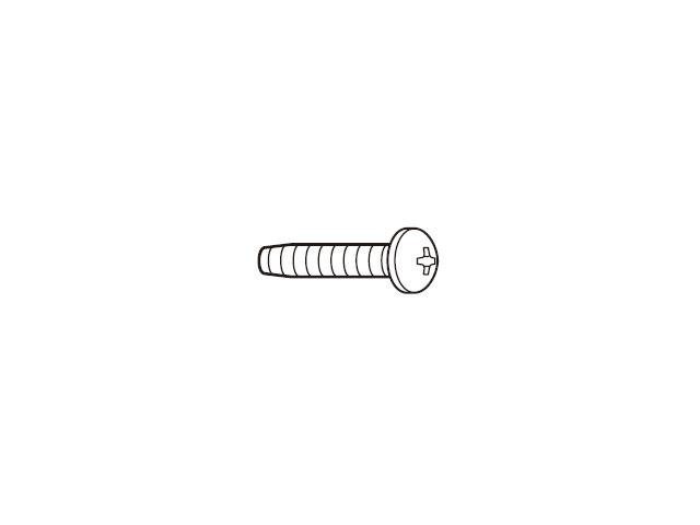 【小型宅配便(定型外郵便)対応可能】☆パナソニック(Panasonic)☆ 液晶テレビ用 ブラケット固定用ねじ(黒)1本入り部品コード:XTB4+18JFJK 純正部品 消耗品