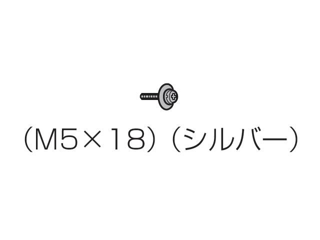 【小型宅配便(定型外郵便)対応可能】☆パナソニック(Panasonic)☆ 液晶テレビ用 固定用ねじ(M5×18)1本入り シルバー部品コード:XYN5+F18FN 純正部品 消耗品