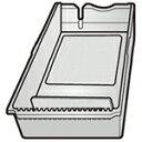SHARP 純正部品コード:2014281801 ◆シャープ(冷蔵庫)用◆◆冷蔵庫用貯氷ケース防音シートは別売です。■新品 純正貯氷ケース