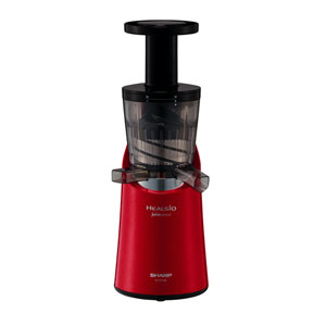 """For' same day shipping lowest challenge sharp SHARP slow juicer herushio ジュースプレッソ red white 2 colour EJCP10B-R-w EJ-CP 10 A ⇒ EJ-CP10B ジュースプレッソ ranking"