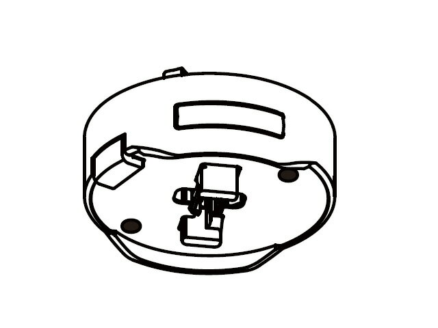 【小型宅配便(定型外郵便)対応可能】☆パナソニック(Panasonic)☆ LEDシーリングライト用 アダプタ カチットF部品コード:NZ2717M 純正部品 消耗品