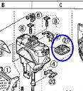 【メール便対応可能】Panasonic(パナソニック)シェーバー用 ES8176L0327 駆動子防水ゴム【宅コ】