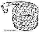 Panasonic パナソニック 洗濯機部品 全自動洗濯機 ドラム式洗濯機 AXW2K-VP10 風呂水吸水ホース ※お風呂までの距離が8m?10mの場合 ※同梱のホースは使わず、このホースのみご使用ください