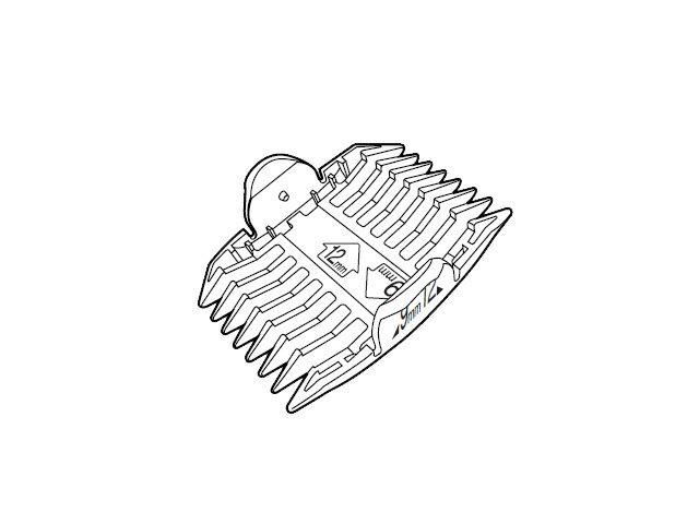 【小型宅配便(定型外郵便)対応可能】☆パナソニック(Panasonic)☆ ペット用バリカン用 刈り高さアタッチメントB(9mm・12mm)部品コード:ER807H7407 純正部品 消耗品