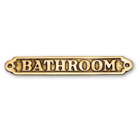 アンティーク調 サイン BATHROOM 【1万円以上お買い上げ送料無料】≪ルイLouisシリーズ≫