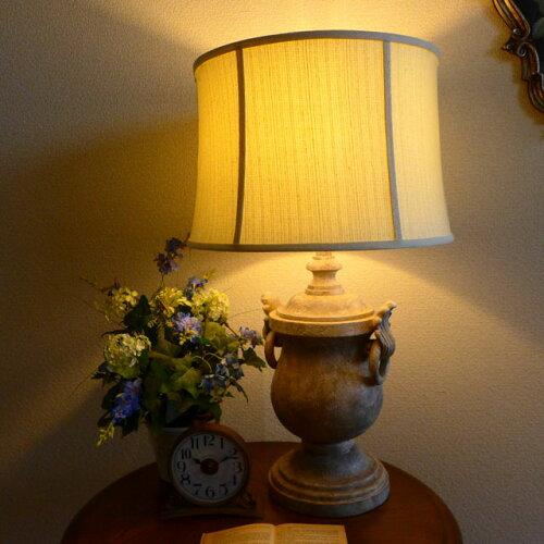 テーブルランプ テーブルライト 壺 つぼ型 ランプ ライト テーブル アンティーク アンティーク調 おしゃれ ベッドサイド ベッドランプ ベッド 高級 寝室 リビング デスク クラシック テイスト モダン LED シェード シェードランプ 照明 間接照明 BO-2237TB CAL lighting