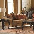 3人掛け ソファ 高級 アウトレット 輸入家具 4200 La Bella Vita クラシック アンティーク 調 アメリカンサイズ クッション付き