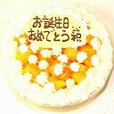 ショッピングマンゴー マンゴー生クリームケーキ5号 バースデー マンゴー 誕生日 マンゴーケーキ デコレーション 生デコ おいしい 人気 ギフトスイーツ 夏 メッセージ トロピカル さっぱり オリジナル