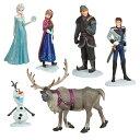 【少々訳あり】US版 ディズニー アナと雪の女王 フィギュアプレイセット