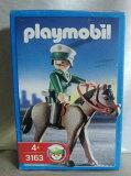 プレイモービルPLAYMOBILドイツ版★警察官と馬#3163