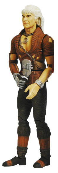 Diamond select Star Trek 2 Caen revenge action figure Khan