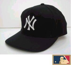 MLB measure 3D cap DX ★ New York Yankees ★ black (cloth thickness type)