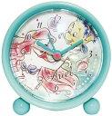 11月新発売★DISNEY★ディズニー★ラウンドアラームクロック『アリエル』アナログ表示(キャラクター目覚まし時計)