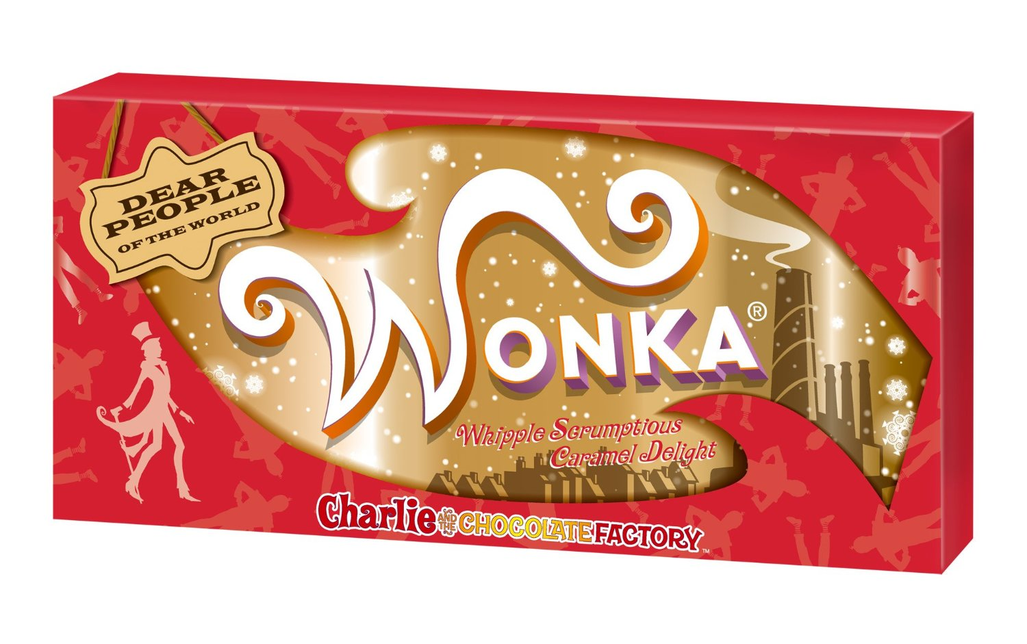 Period limited Valentine immediately out express flight ★ 2015 limited package version Wonka two outstanding set & a separate service looping & even if Japan ★ Nestle Charlie and the chocolate factory Wonka candy ★