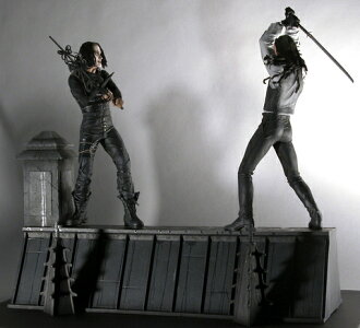 US Edition NECA Crow The Crow Rooftop Box Set Crow rooftop box set