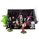 US版 ディズニー ナイトメアビフォアクリスマス フィギュアプレイ 7種セット
