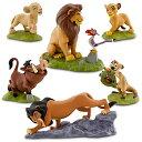 US版 ディズニー ライオンキング フィギュアプレイ 6種セット