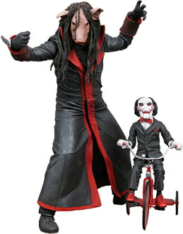 US Edition NECA cult classic 5 ★ SAW Jigsaw Killer (the pig version ★ US figure only