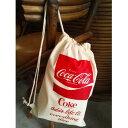 【コカコーラ】【Coca-Cola】【COKE】【コーク】 巾着ポーチ