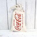 【コカコーラ】【Coca-Cola】【COKE】【巾着ポーチ】【ニュータイプ】【スリーサイズ】【Sサイズ】【メール便発送可能】