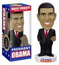 バラク・オバマ ワッキーワブラー ボブルヘッド/FUNKO(ファンコ)Obama Wacky Wobbler
