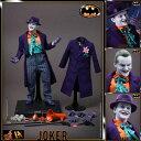 【送料無料】1/6スケールフィギュア ジョーカー【ムービー・マスターピース DX】『バットマン』ホットトイズ社製 Hot tToys Movie Masterpiece Deluxe - 1/6 Scale Fully Poseable Figure: Batman - The Joker