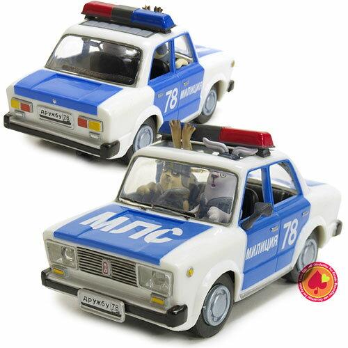 プルバックトイ(ミリツィアポリス警察)/ウサビッチ :PULL BACK TOY【RCP】【楽天カード分割】