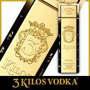 3Kilos Vodka Gold 999.9 (スリーキロ...