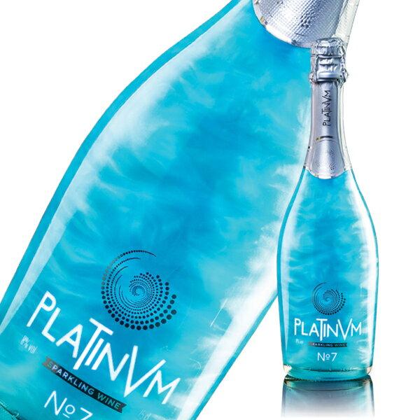 プラチナム フレグランス No.7 パイナップル&ココナッツ 750ml PLATINVM FRAGRANCES [ラメ入りスパークリングワイン]