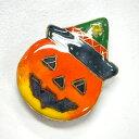 帯留め 帯どめ おびどめ 七宝焼き ハロウィン かぼちゃ お...